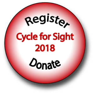 Register and donate button Cycle for Sight 2018